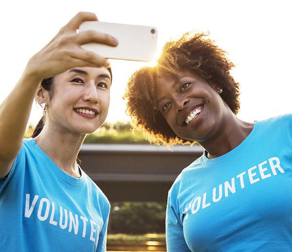 Volunteer Photo Selfie
